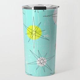 Atomic Era Art 'Planets' Travel Mug