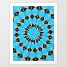 a pattern of habit Art Print