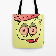 Zombie close up Tote Bag