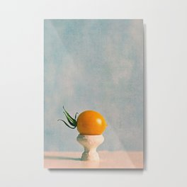chilled Metal Print
