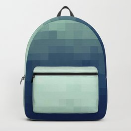 Gradient Pixel Aqua Backpack