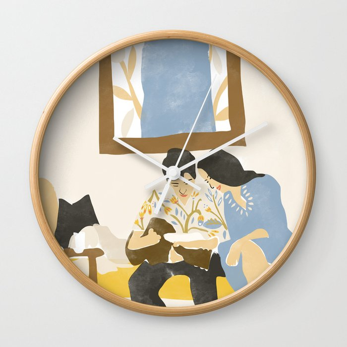 You and me and the music Wall Clock