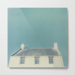 Polaroid lovers ~ Summer roof Metal Print