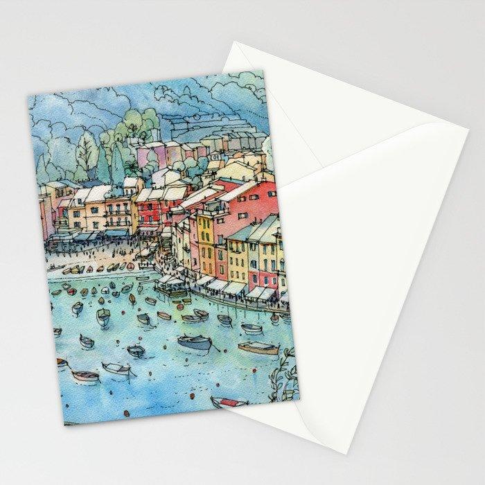 Portofino, Italy Stationery Cards