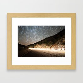 Hyperdrive on Kitt Peak Framed Art Print