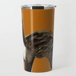 Sweet Stone Marten ( Martes foina ) Travel Mug