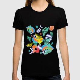 summertime pattern T-shirt
