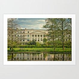 Regent's Park Splendor Art Print