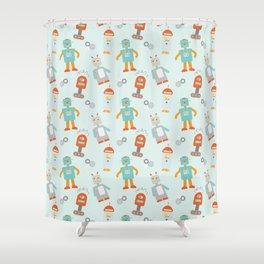 Mr. Roboto Shower Curtain