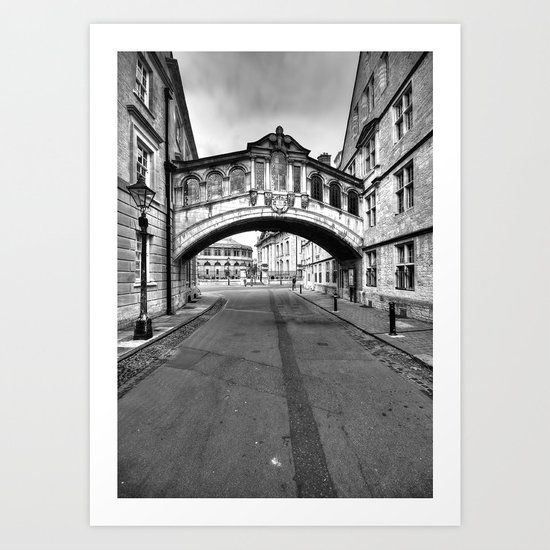 Welcome To Oxford Art Print