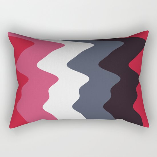 Abstract lines 23 Rectangular Pillow