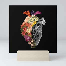 Flower Heart Spring Mini Art Print