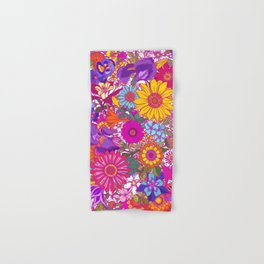 Summer Garden 2. Flower Power Hand & Bath Towel