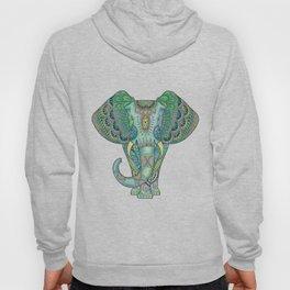 Mandala Elephant Hoody