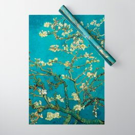 Vincent Van Gogh Blossoming Almond Tree Wrapping Paper