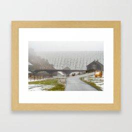 Elan Valley. Framed Art Print