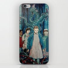 Stranger Things artwork painting iPhone & iPod Skin