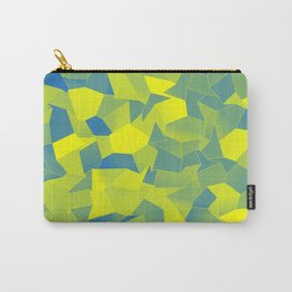 Geometric Shapes Fragments Pattern yb Carry-All Pouch
