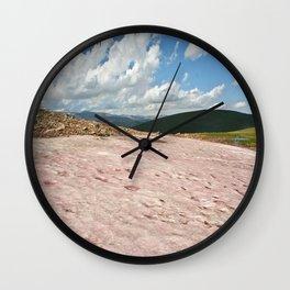 Watermelon Snow Wall Clock