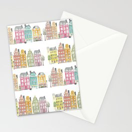 Stockholm houses Stationery Cards