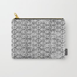 Art Deco Tiles in Grey Carry-All Pouch