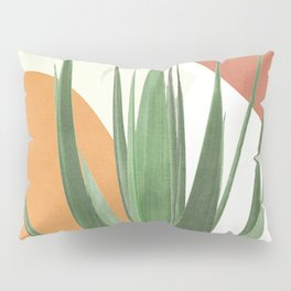 Abstract Agave Plant Pillow Sham