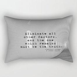 Truth Sherlock Holmes Rectangular Pillow