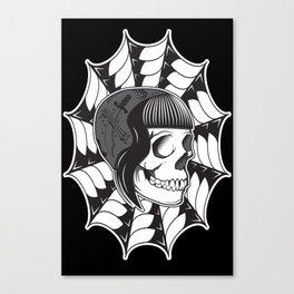 Sweetheart (Black) Canvas Print
