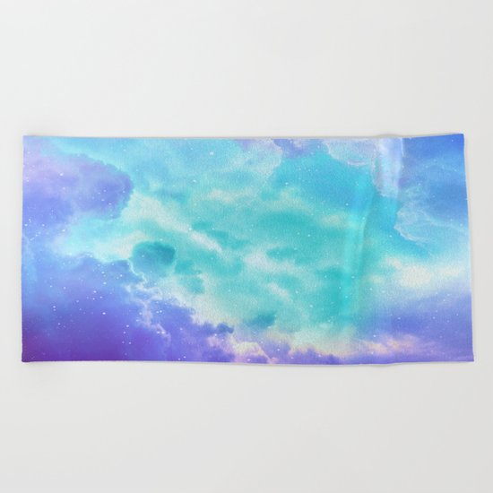 Right Here Beach Towel
