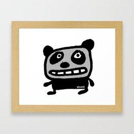 Graphic Panda! Framed Art Print