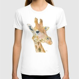 Giraffe Watercolor T-shirt