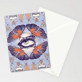 Moth Mandala Stationery Cards