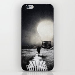 Follow the light ... iPhone Skin