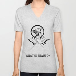 Lucas North : Gnothi Seauton Unisex V-Neck