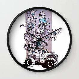 Van 4 Wall Clock