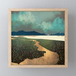 Distant Land Framed Mini Art Print