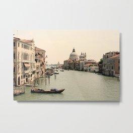Bridge Views of Venezia  Metal Print
