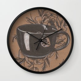 Not Everyone's Cup of Tea Wall Clock