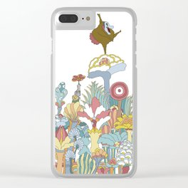Pepperland Clear iPhone Case