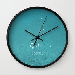 Scorpio Star Sign Wall Clock