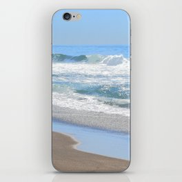 Baby Blue Ocean iPhone Skin
