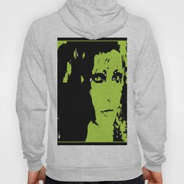 Girl Staring Green with Envy Hoody