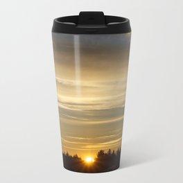 The sunrise Metal Travel Mug