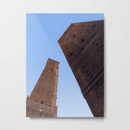 Le Due Torre Metal Print