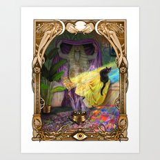 The Oracle Art Print