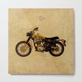 Ducati Scrambler 350 1970 Metal Print