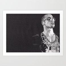 Tyler Durden Art Print