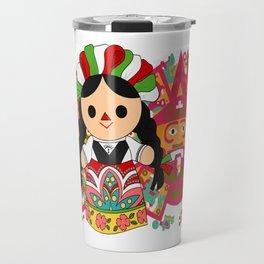 Maria 1 (Mexican Doll) Travel Mug