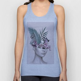 Tropical Girl 3 Unisex Tank Top