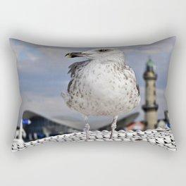 Baltic SEAGULL on the beach chair Rectangular Pillow